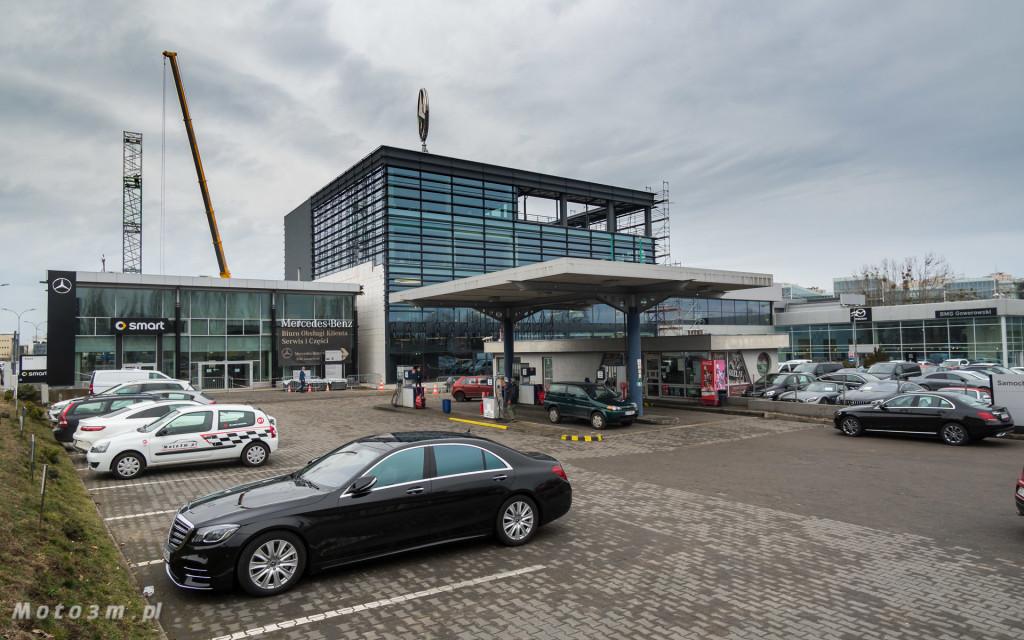 Nowy salon Mercedes-Benz BMG Goworowski w Gdyni - Etap II-08132