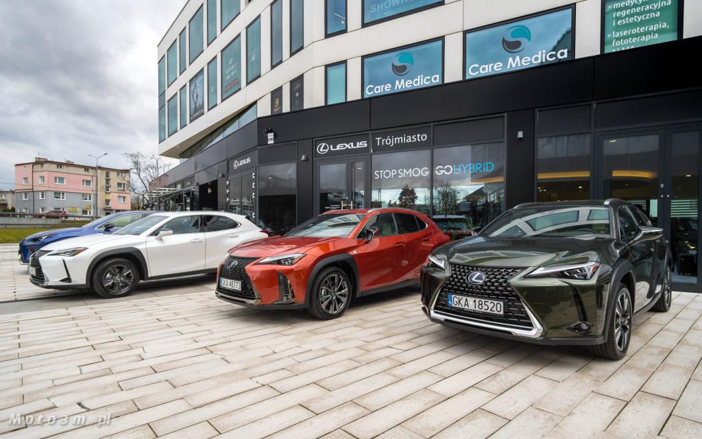 Premierowy tydzień z Lexus'em UX w Lexus Trójmiasto-08604