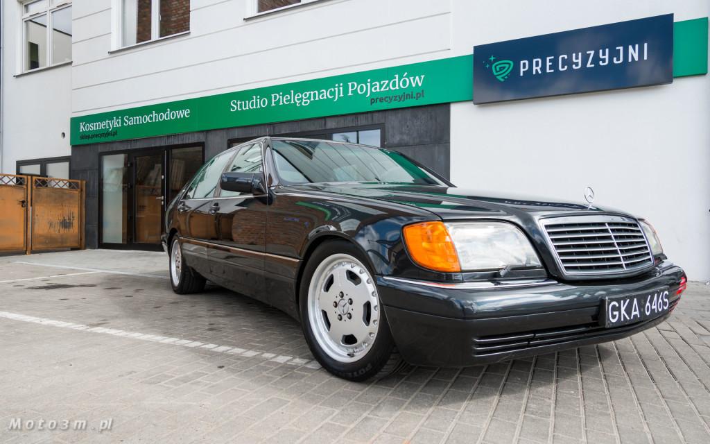 Mercedes-Benz Klasy S -Nikosia- W140 S600 w Studiu Precyzyjni w Wejherowie -09610