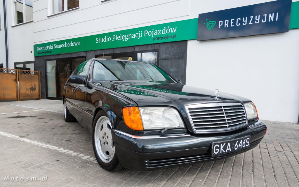Mercedes-Benz Klasy S -Nikosia- W140 S600 w Studiu Precyzyjni w Wejherowie -09613