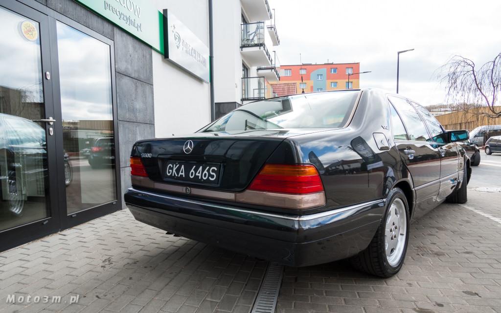 Mercedes-Benz Klasy S -Nikosia- W140 S600 w Studiu Precyzyjni w Wejherowie -09617