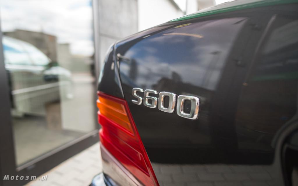 Mercedes-Benz Klasy S -Nikosia- W140 S600 w Studiu Precyzyjni w Wejherowie -09619
