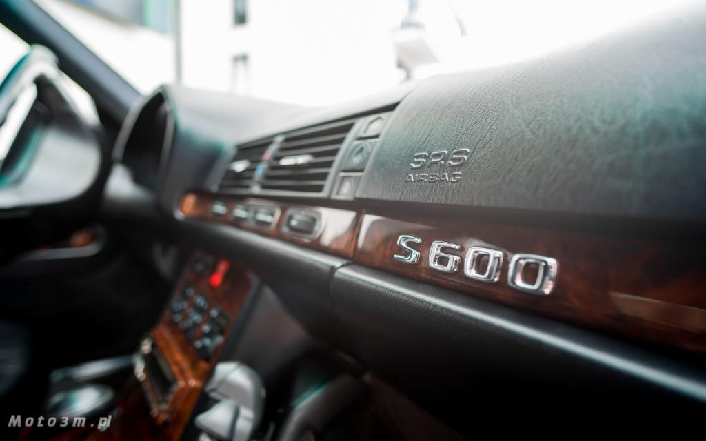 Mercedes-Benz Klasy S -Nikosia- W140 S600 w Studiu Precyzyjni w Wejherowie -09629