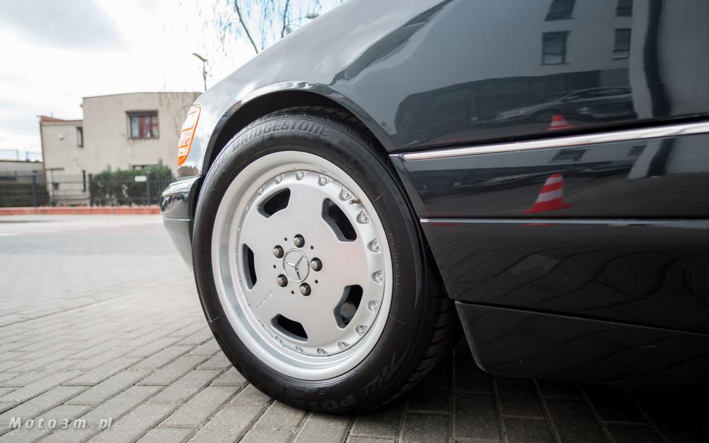 Mercedes-Benz Klasy S -Nikosia- W140 S600 w Studiu Precyzyjni w Wejherowie -09634