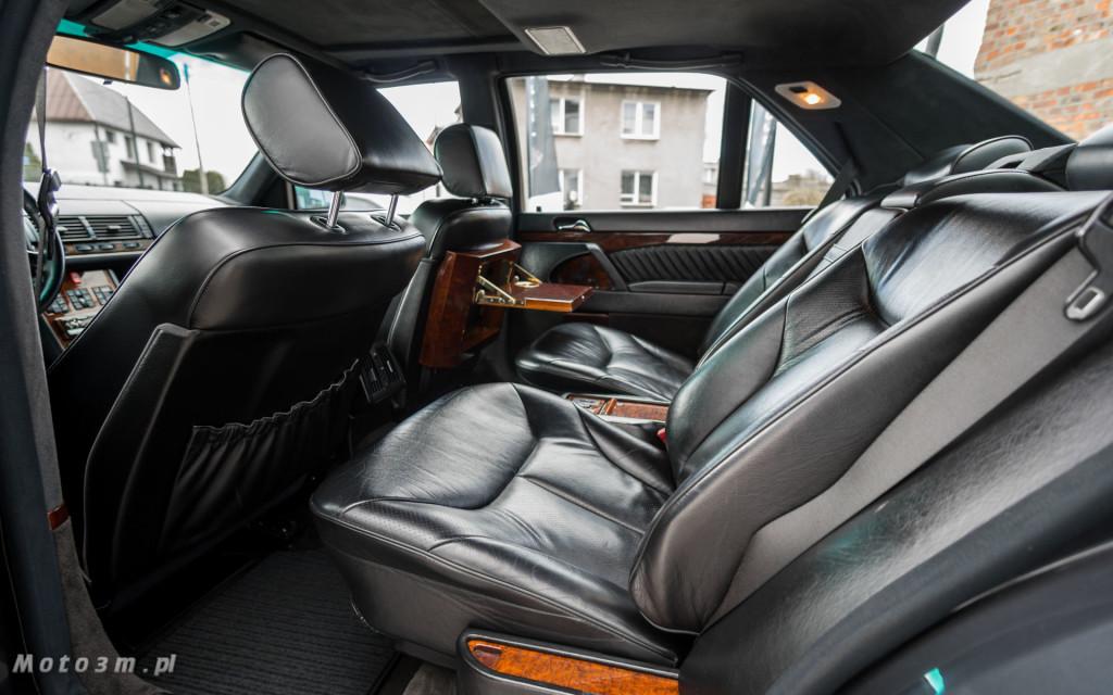 Mercedes-Benz Klasy S -Nikosia- W140 S600 w Studiu Precyzyjni w Wejherowie -09635