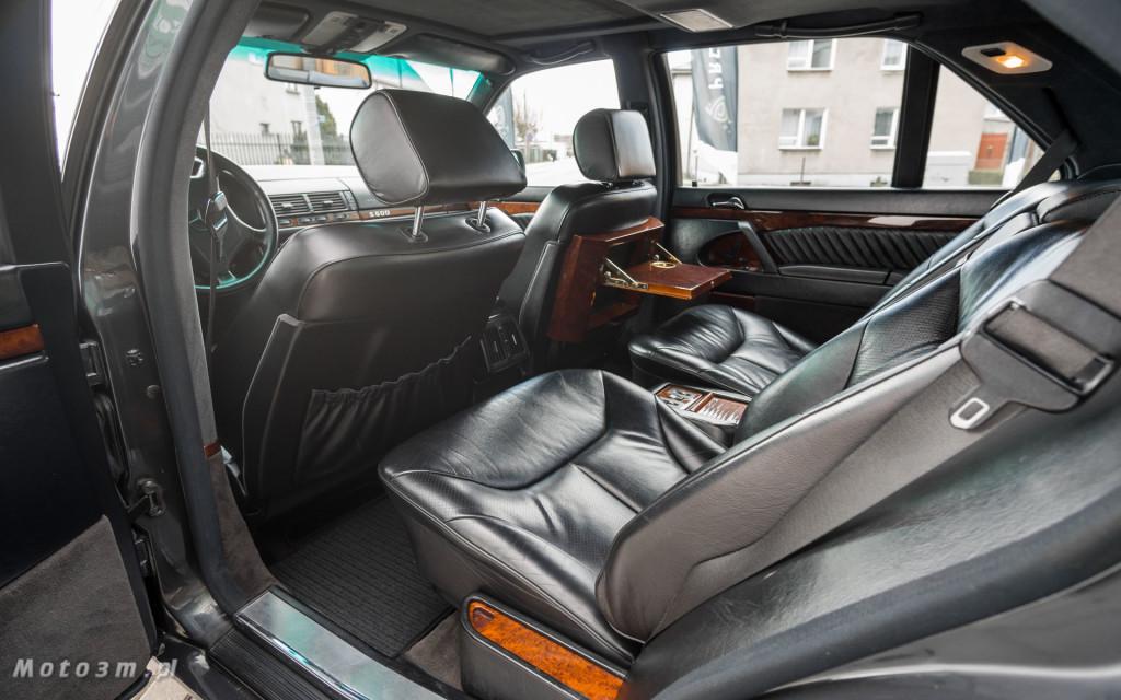 Mercedes-Benz Klasy S -Nikosia- W140 S600 w Studiu Precyzyjni w Wejherowie -09636