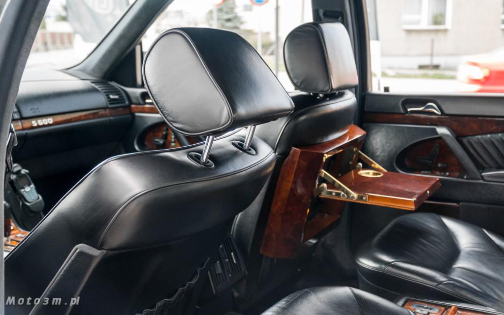 Mercedes-Benz Klasy S -Nikosia- W140 S600 w Studiu Precyzyjni w Wejherowie -09639