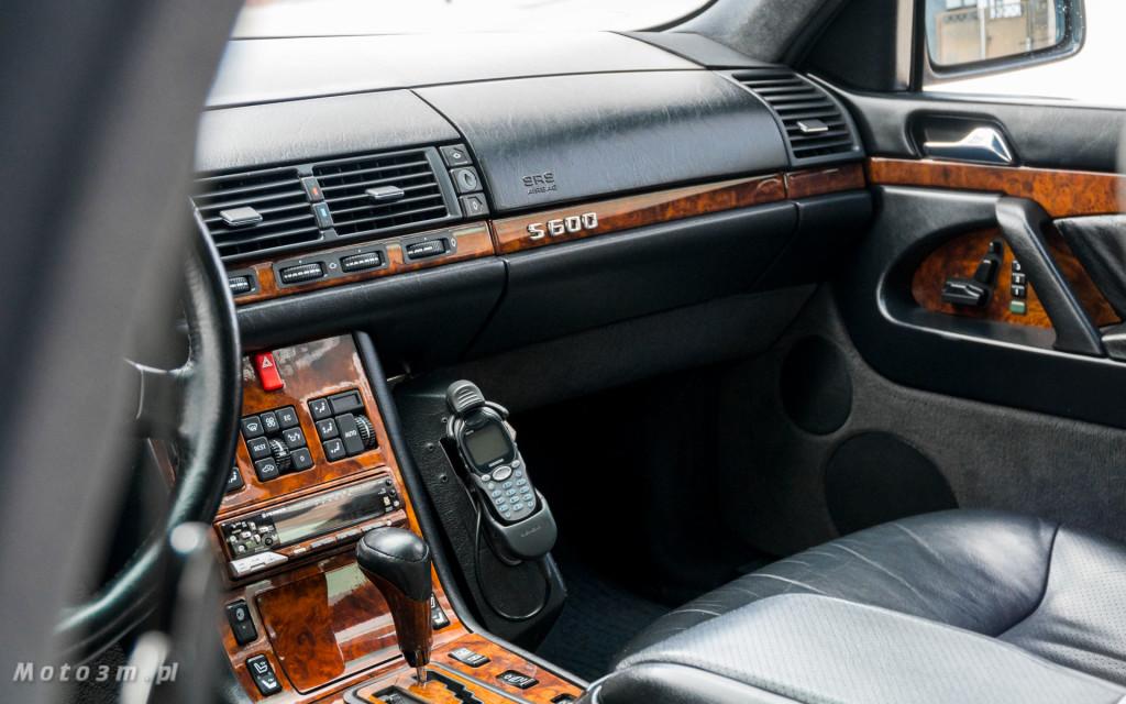 Mercedes-Benz Klasy S -Nikosia- W140 S600 w Studiu Precyzyjni w Wejherowie -09640