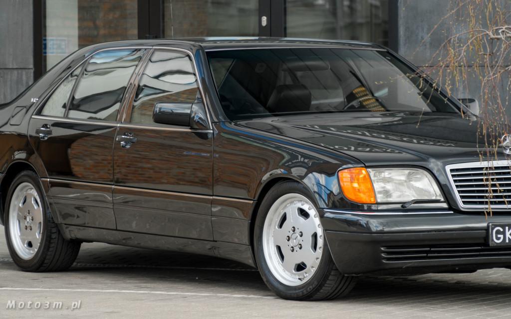 Mercedes-Benz Klasy S -Nikosia- W140 S600 w Studiu Precyzyjni w Wejherowie -09644