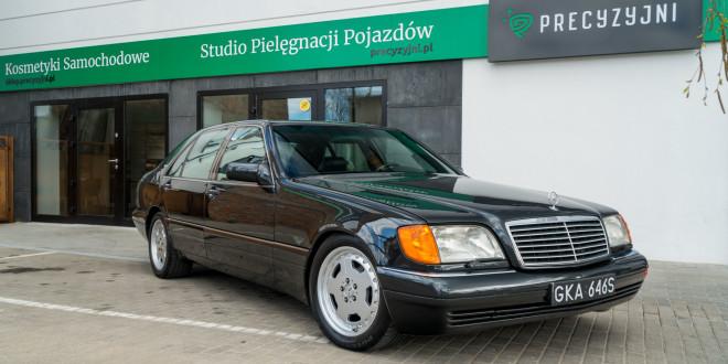 Mercedes-Benz Klasy S -Nikosia- W140 S600 w Studiu Precyzyjni w Wejherowie -09647