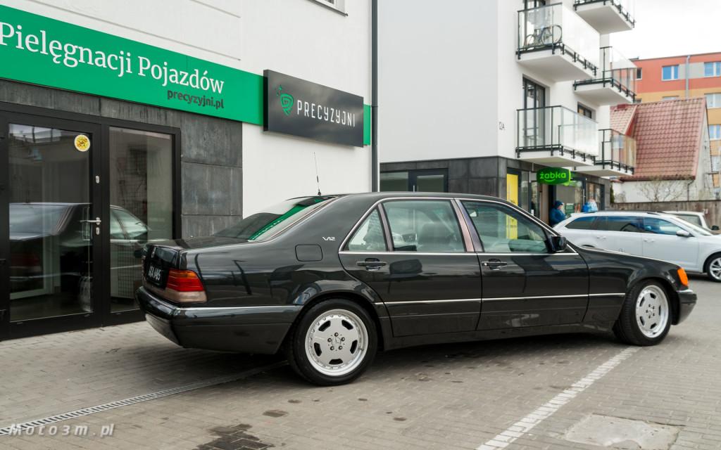 Mercedes-Benz Klasy S -Nikosia- W140 S600 w Studiu Precyzyjni w Wejherowie -09654
