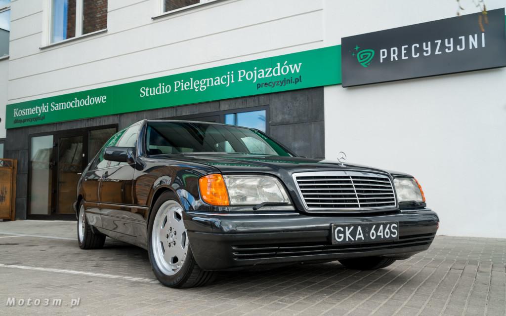 Mercedes-Benz Klasy S -Nikosia- W140 S600 w Studiu Precyzyjni w Wejherowie -09656