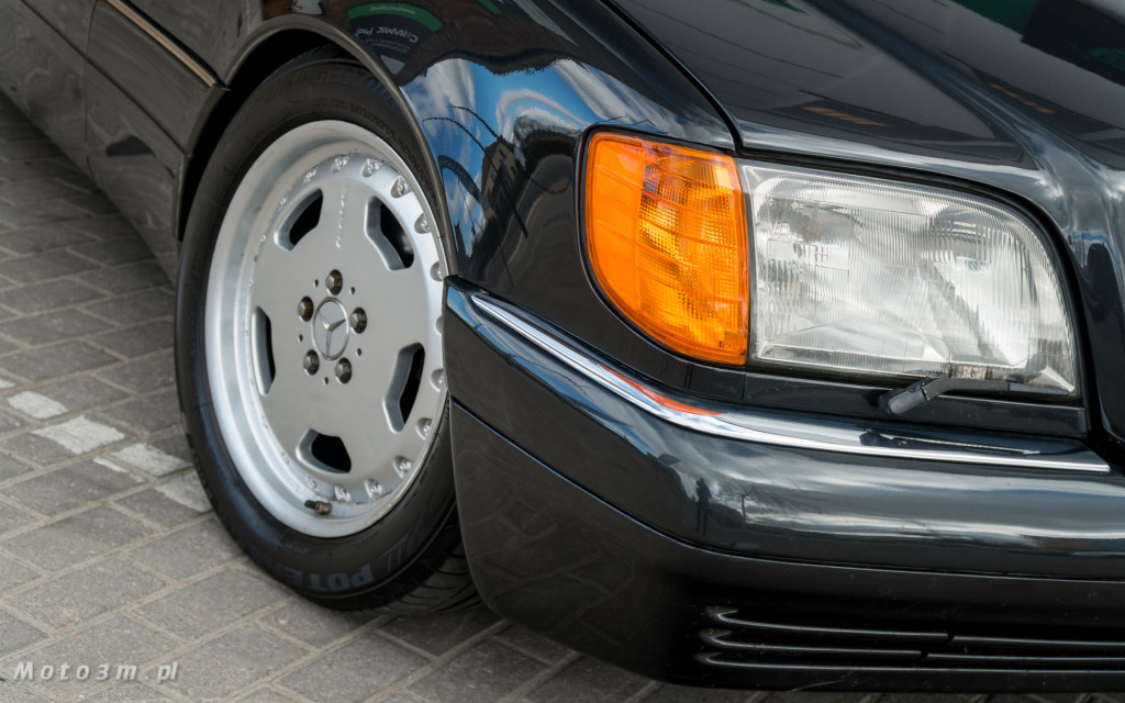 Mercedes-Benz Klasy S -Nikosia- W140 S600 w Studiu Precyzyjni w Wejherowie -09660