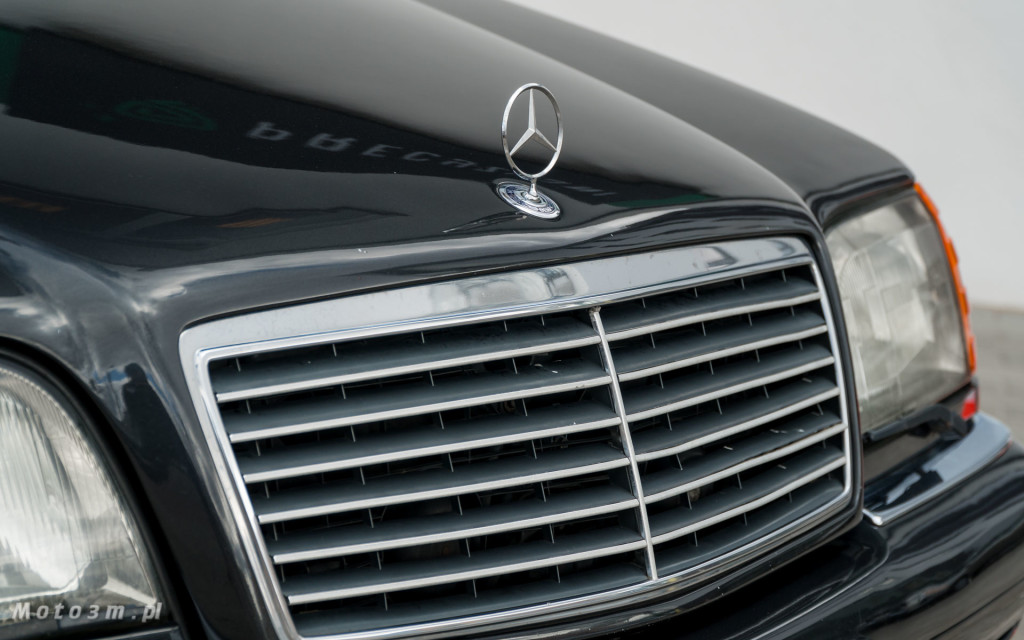 Mercedes-Benz Klasy S -Nikosia- W140 S600 w Studiu Precyzyjni w Wejherowie -09661
