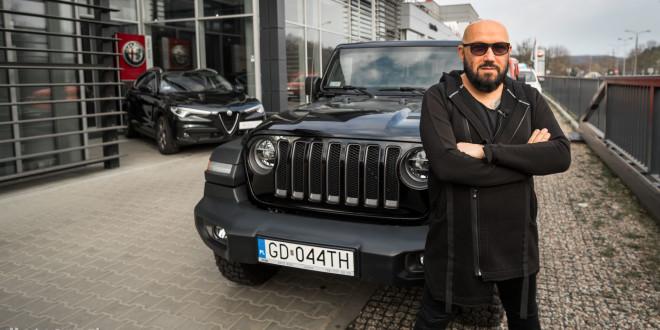 Nowy samochód Grzegorza Skawińskiego - Jeep Wrangler-09444