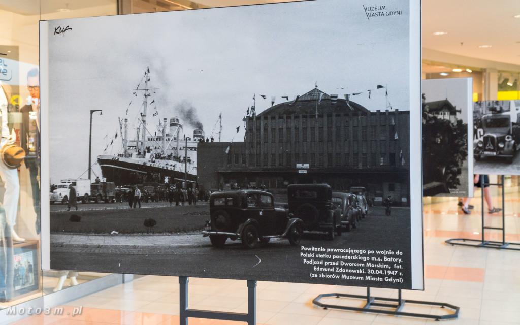 Wystawa w Galerii Klif - -Jazda! Motoryzacja w międzywojennej Gdyni--00183