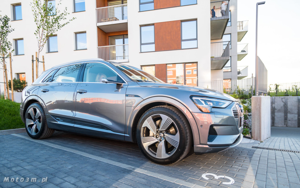 Audi e-tron - test moto3m-02397