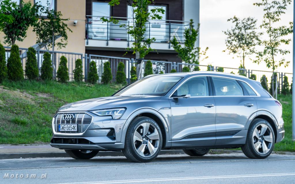 Audi e-tron - test moto3m-02407