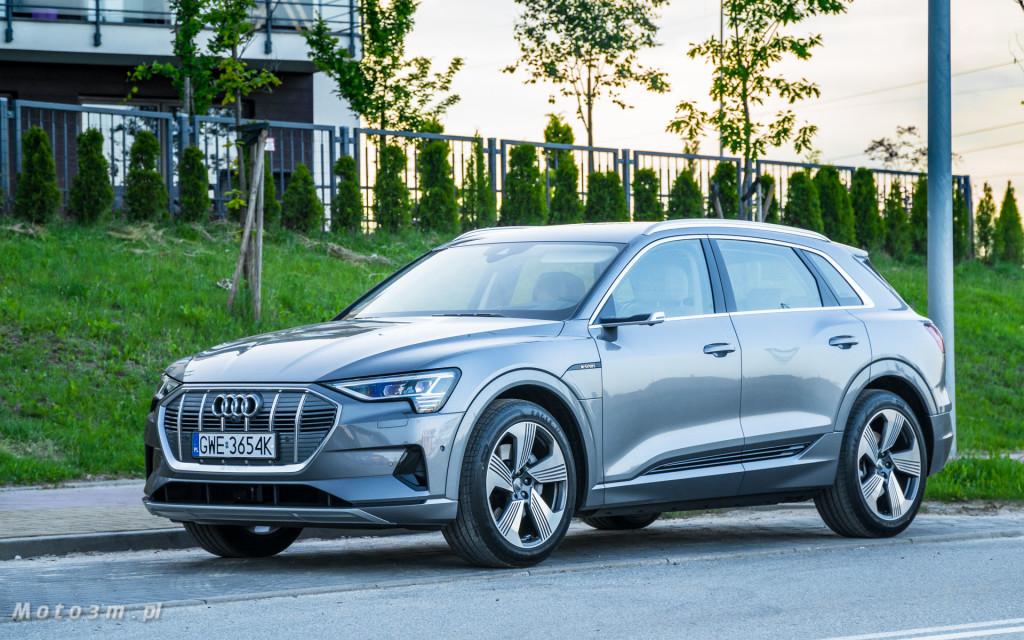 Audi e-tron - test moto3m-02408