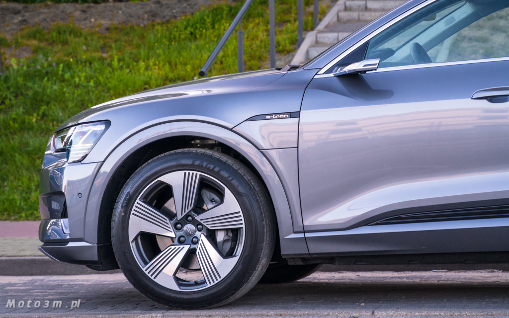 Audi e-tron - test moto3m-02422