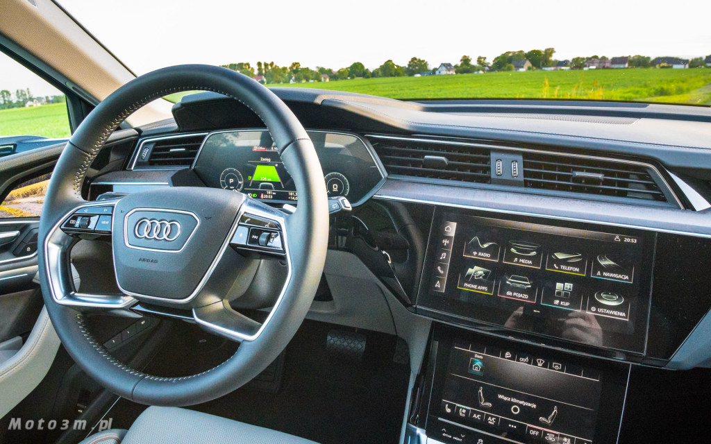 Audi e-tron - test moto3m-02467