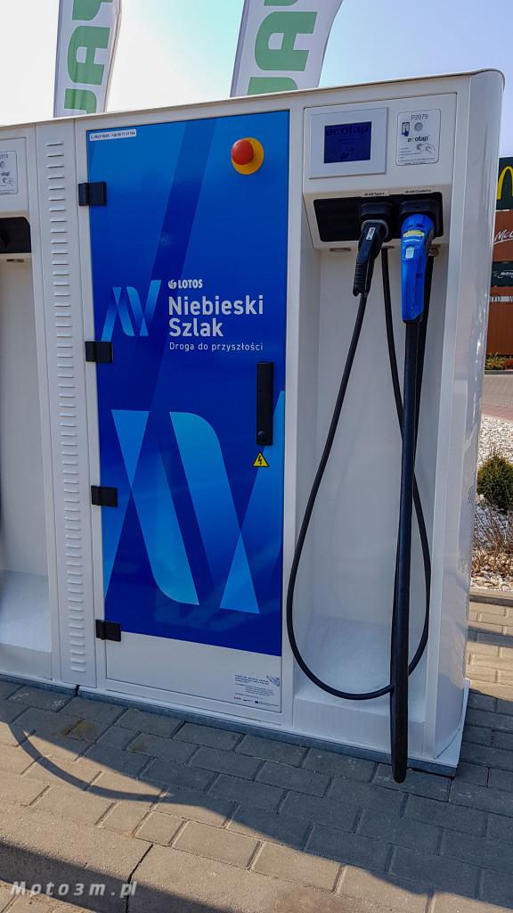 Błękintny Szlak - ładowarki do samochodów elektrycznych LOTOS-132034