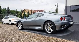 Ferrari 360 Modena w warsztacie w Chwaszczynie-121337