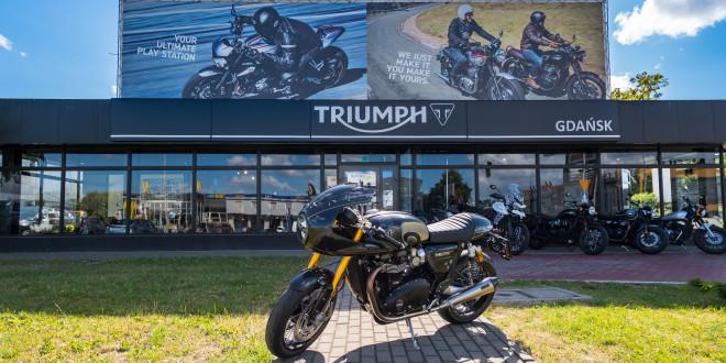 Jeden z 750 motocykli Triumph Thruxton TFC sprzedany w Gdańsku-03485