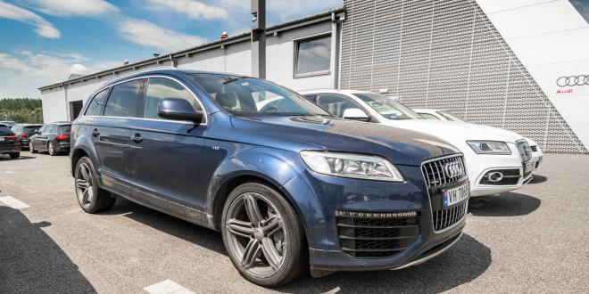 Najpotężniejszy diesel świata w aucie osobowym - Audi Q7 V12 TDi w Audi Centrum Gdańsk-03995