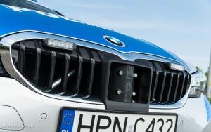 Policyjne radiowozy BMW - oznakowane i nieoznakowane. Policja, garnizon pomorski-04233