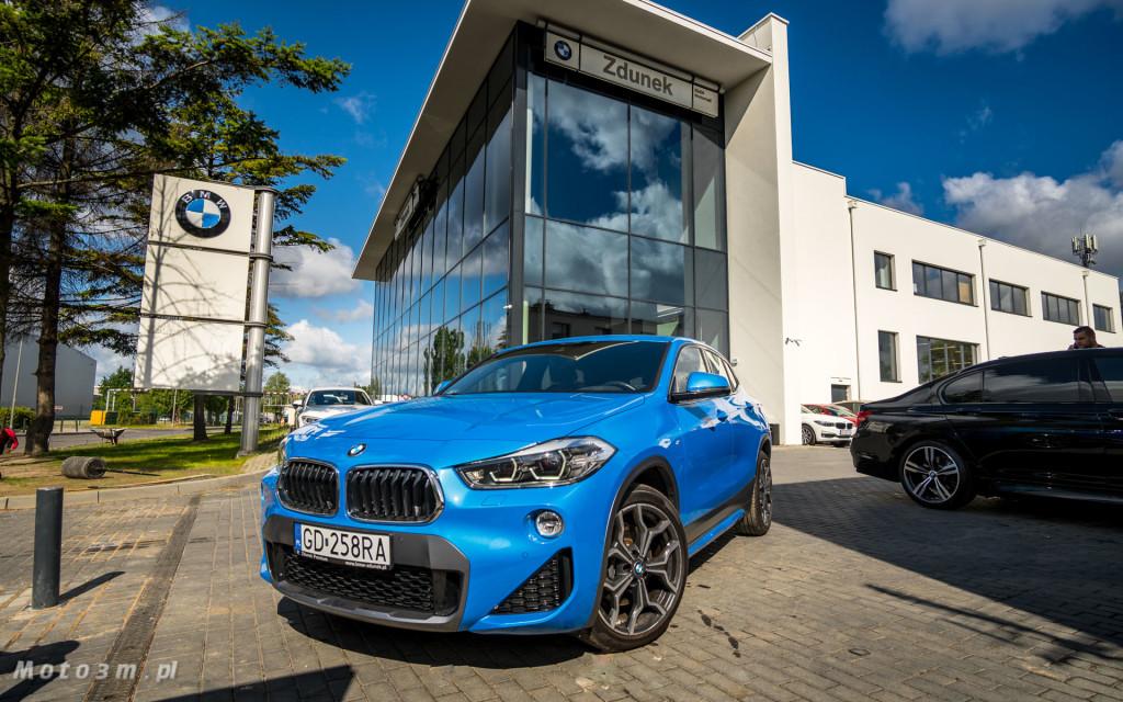 BMW X2 niebieski Misano w BMW Zdunek-03613