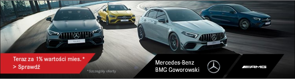 Baner-BMG-Goworowski-Mercedes-AMG-marzec-2020